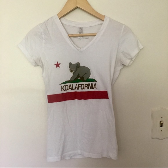 Next Level Apparel Tops Koalafornia Graphic Tee From San Diego Zoo